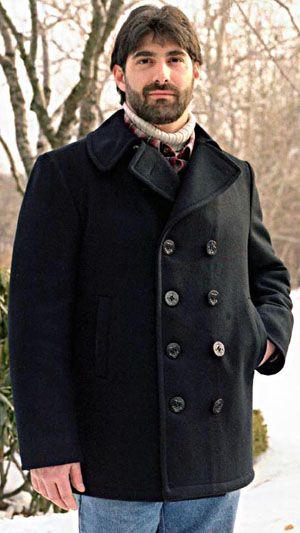 8 best Pea Coat Navy Pea Coats Wool Pea Coats for Men & Women ...