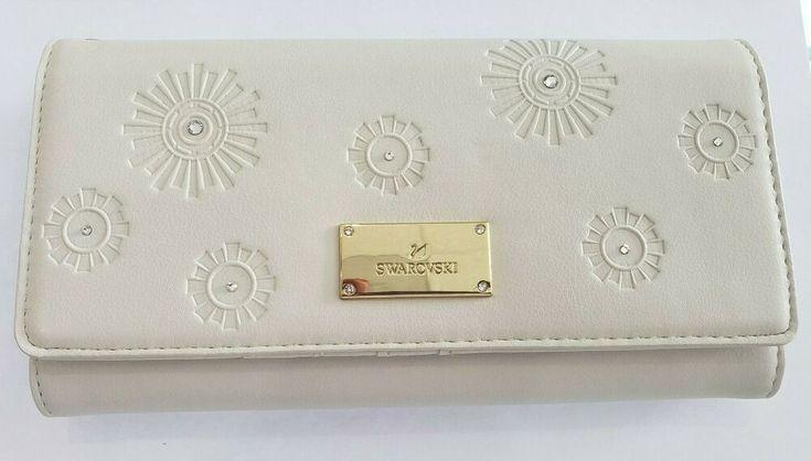 5493061 Neue 2019 Swarovski Travel Wallet Tan Kristall Frauen Damen KOSTENLOSER VERSAND …