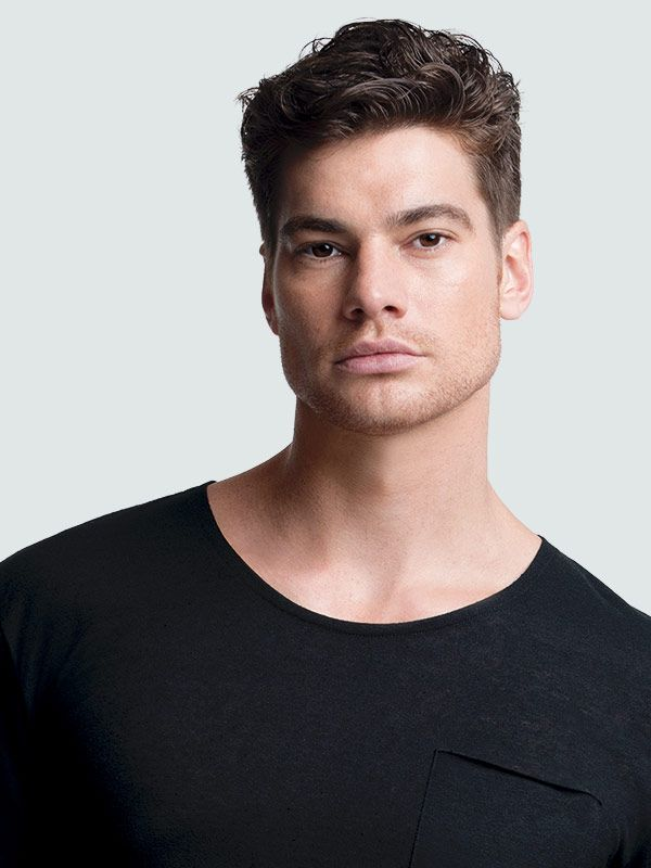 The men's classic taper haircut is a timeless look that is tight and clean around the sides and neckline. See all men's hairstyles from Regis Hair Salons.