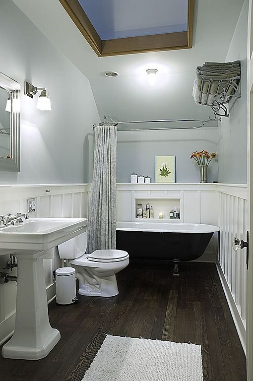 Towel Warmer, Laminate, Pedestal, Wainscotting, Traditional, Skylight, Claw Foot, Chair rail, Flush/Semi-Flush Mount, Wall sconce
