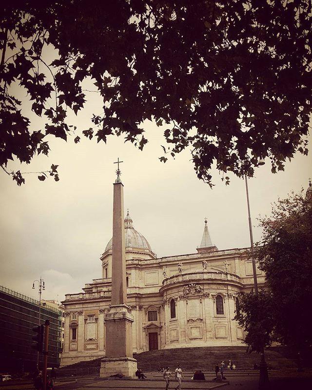 Santa Maria Maggiore. Via Cavour. Roma. Italy