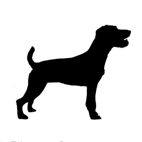 parson russell terrier silhouette