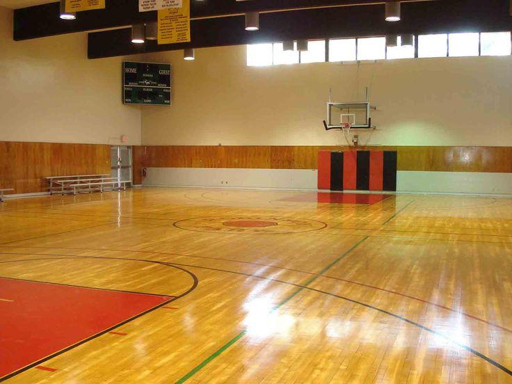 Indoor basketball court interiors design interior design for Indoor basketball court design