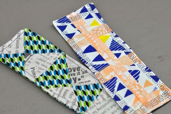 Sewing with kids fabric bookmarks sewing and crochet for Children s material sewing