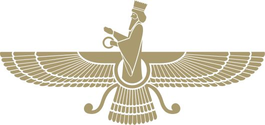 The Faravahar or Frawahr is one of the symbols of Zoroastrianism, also symbol of Median Empire.