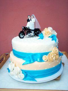 Svatební s motorkou