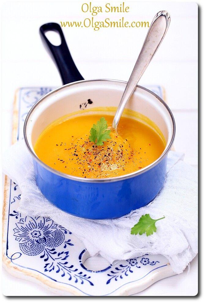 Zupa dyniowa krem - przepis Olgi Smile