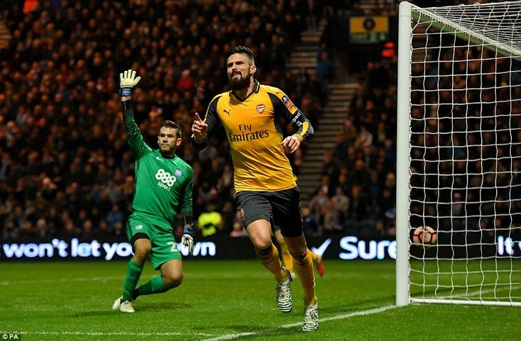 Sports Gist: Giroud is turning out to be the Ramos of Premier League