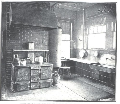 1890s Kitchen Like Aundy Would Have Used From The
