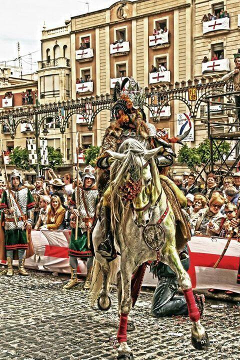 Fiestas de #morosycristianos #Alcoy