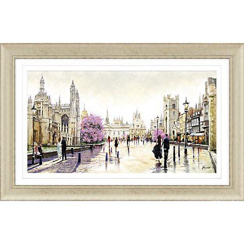 Buy Richard Macneil - Cambridge Spires Framed Print 112 x 72cm Online at johnlewis.  sc 1 st  Pinterest & 11 best Wallart images on Pinterest | Framed art prints Framed ...