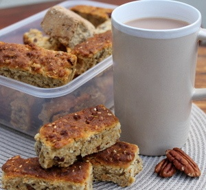 Maple and Pecan Rusks via http://underthebluegumtree.com