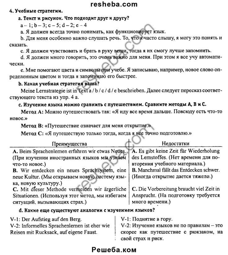 Немецкий Язык 5 Класс Будько Решебник 1 Класс Часть 2