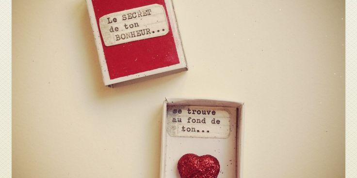 Les Mini-Boîtes à BONHEUR | Le magasin de mots | Graine de Carrosse
