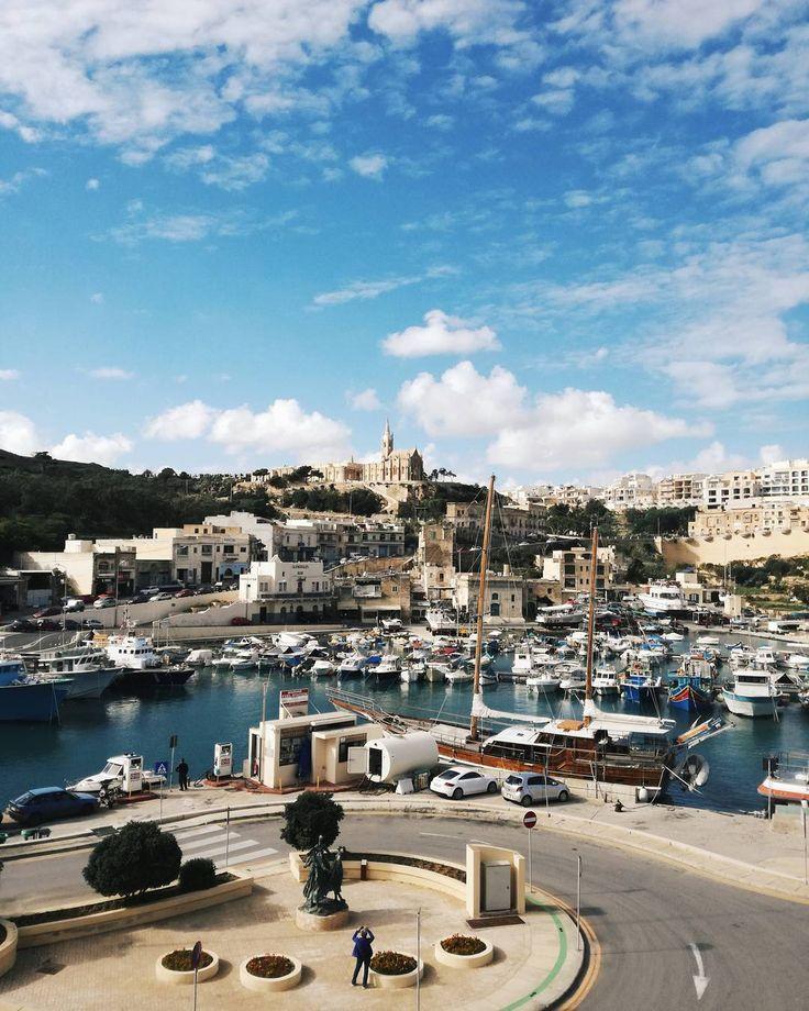 #gozo #malta #sea #boats #beauty #holidays #sun #clouds #windy #nature #beautifull #love #weather #sunny #happy #smile #trip #boat #water