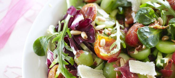 Rapea parmankinkkusalaatti | Alkuruoat | Reseptit – K-Ruoka