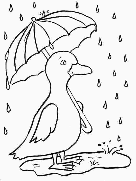 Rainy Day Coloring Pages Pdf Rainy Day Drawing Coloring Pages