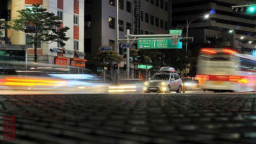 Traffic. Taken with Nikon D300, 50mm 1.8