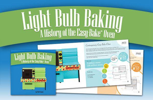 Light Bulb Baking: A History of the Easy-Bake Oven by Todd Coopee  #easybakeoven #lightbulbbaking