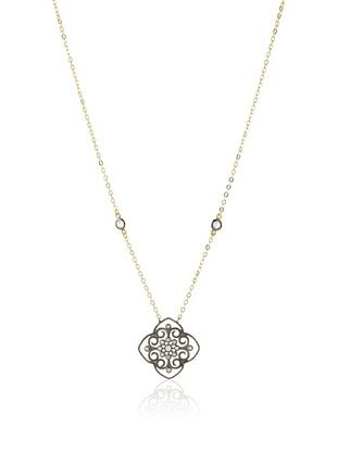 68% OFF Belargo Filigree Pendant Necklace
