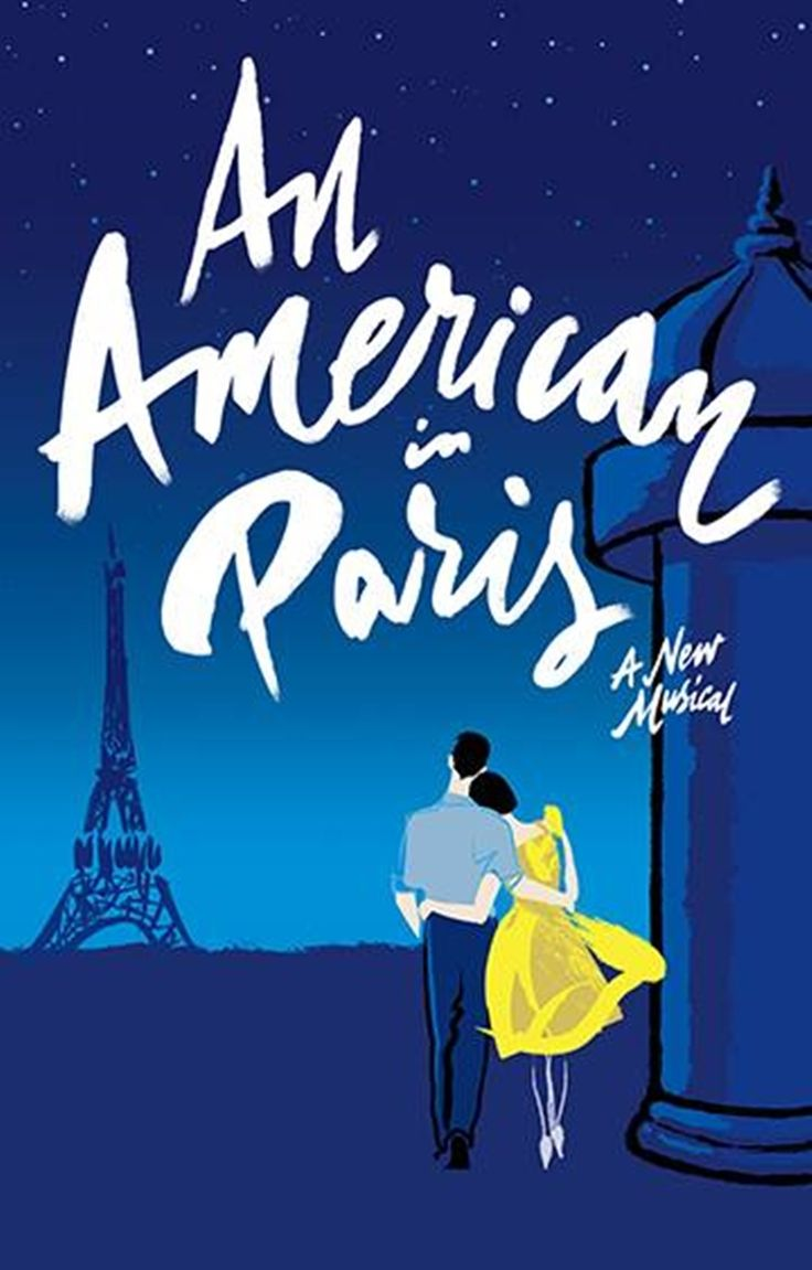 An eye-grabbing official poster for the upcoming Theatre du Chatelet tryout production of AN AMERICAN IN PARIS is now available to view.