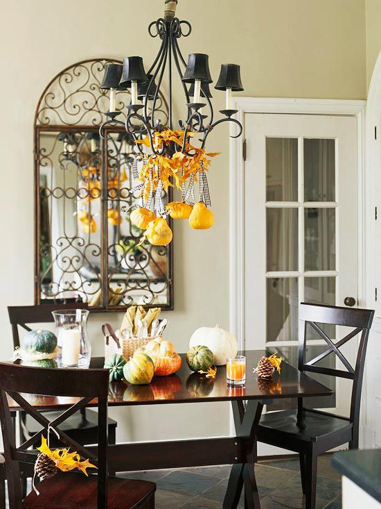 all harvest long decorating ideas for fall - Decorating For Fall