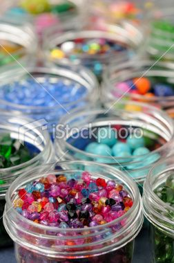 Colorful Beads Royalty Free Stock Photo