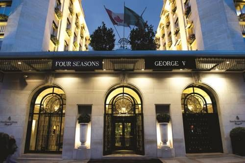 Four Seasons Hotel George V Paris (31, Avenue George V) Just steps from the Champs-Elysées, with private terraces with commanding Paris city views, signature lavish flower displays, top-of-the-line spa treatments and Michelin-awarded dining, Four Seasons Hotel George V, Paris redefines luxury in the City... #bestworldhotels #hotel #hotels #travel #fr #paris