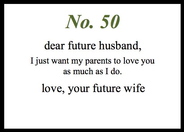 Love Notes To My Future Husband: Photo