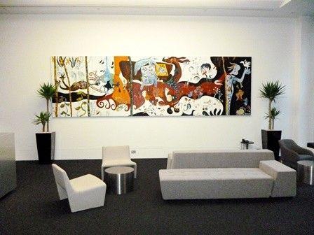 Foyer planters by Paul Pph on 500px#planthire #sydney #plantrental #indoorplanthire #office planthire