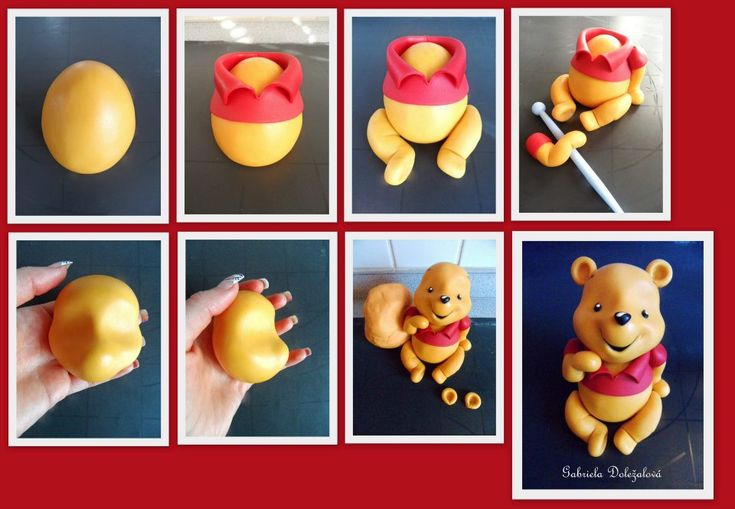 Winnie the Pooh: Cakes Tutorials, Marzipan Figures, Poohbear, Pooh Bears, Cakes Inspiration, Fondant Tutorials, Cakes Decor, Winnie The Pooh, Polymer Clay