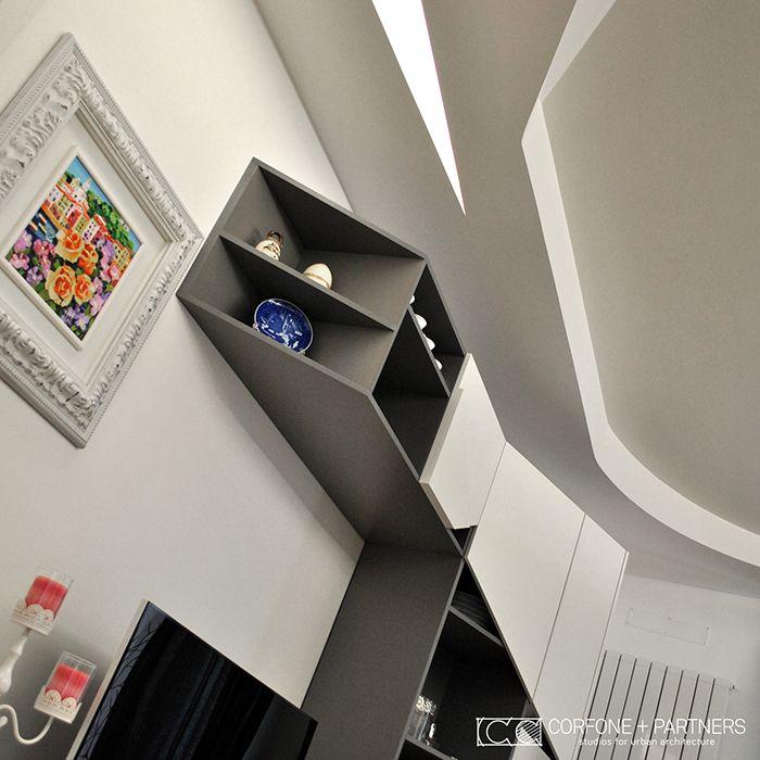 CORFONE+PARTNERS - Interior design Living Room - GL13 HOUSE