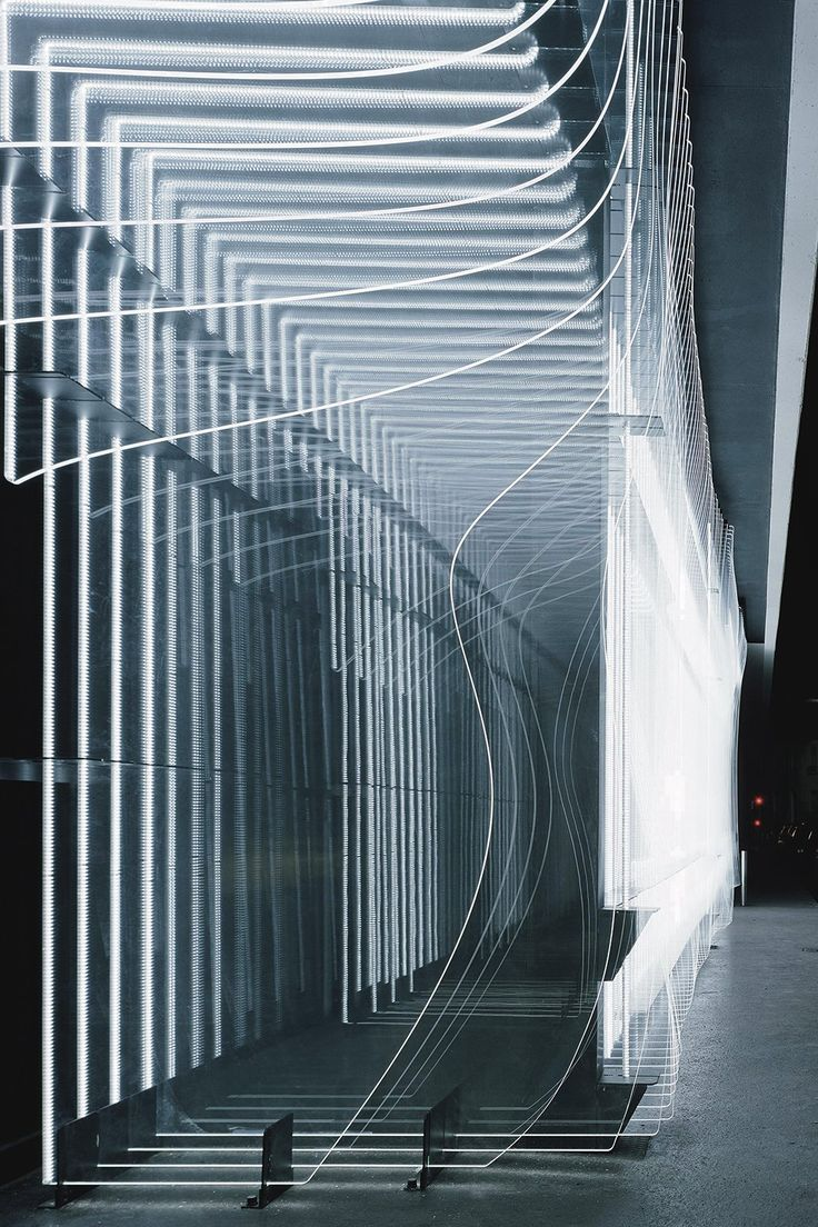 The Centre de Création Contemporaine by Production Conception Architecture, Philippe Chiambaretta Architecture (PCA) & ACT Lighting Design