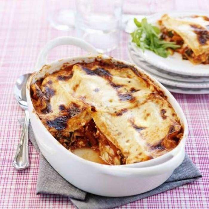 Vegetarisk lasagne – enkelt recept med quornfärs