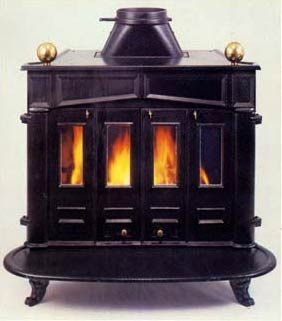 Franklin stove  http://www.stovespares.co.uk/images/stoves/franklin%2520large.jpg