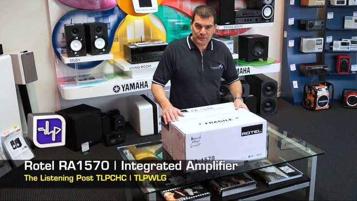 Rotel RA1570 Integrated Amplifier Unboxing, First Look, Review, | The Li...