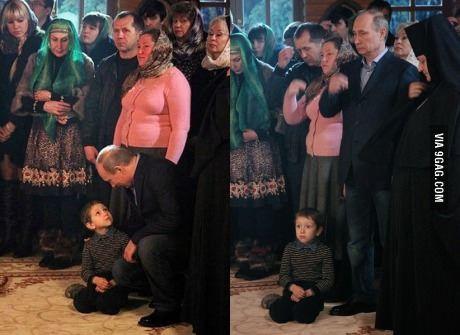 Putin celebrates New Year