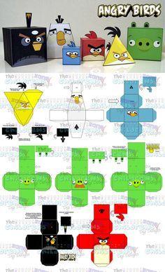 Invitaciones Angry Birds-mega Paquete Fiesta Angry Birds - $ 200.00 en MercadoLibre