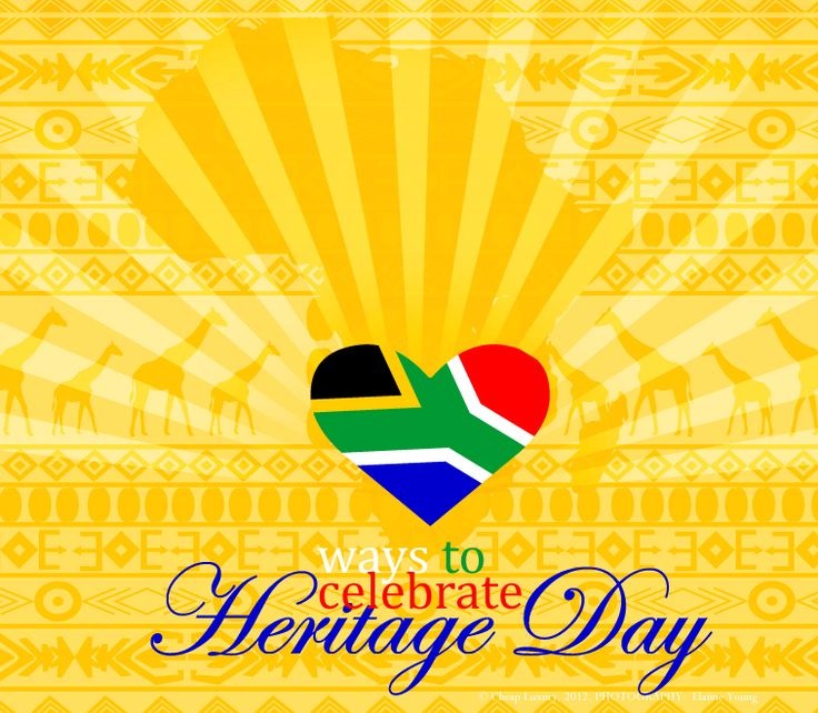 South African Heritage-Day September 24