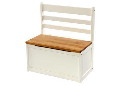 Kinderbank en opbergkist 'Beech XL'   Bench Brandon   Tafeltjes en stoelen