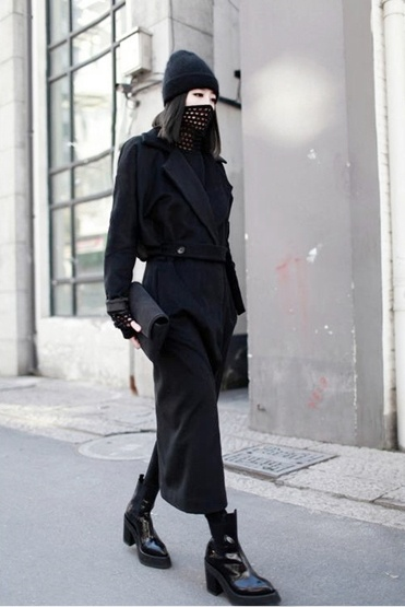 The most perfect outfit ever. I spot Yang Li, Alexander Wang..