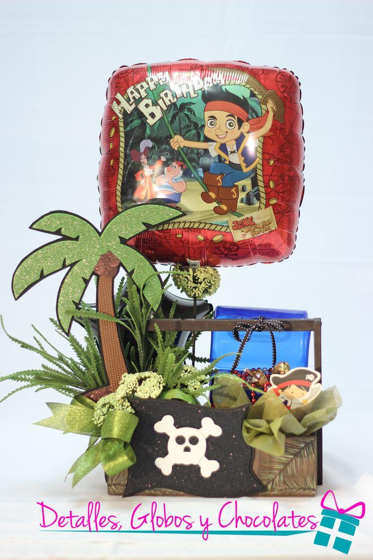 """Jack el Pirata """"Detalles globos y chocolates"""""""
