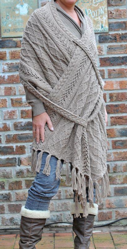 Knitting pattern for Lorena Shawl