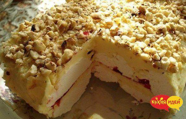 Простой зефирный торт — В РИТМІ ЖИТТЯ
