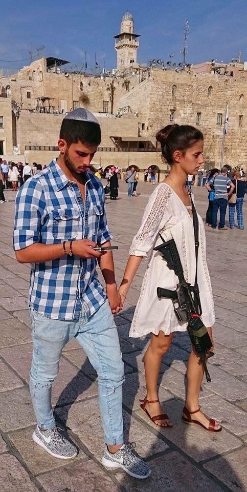 Израиль,иерусалим,оружие