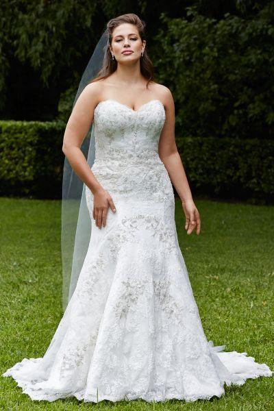 Robes de mariée 2016 pour femmes rondes : Mettez en valeur vos courbes avec style Image: 18