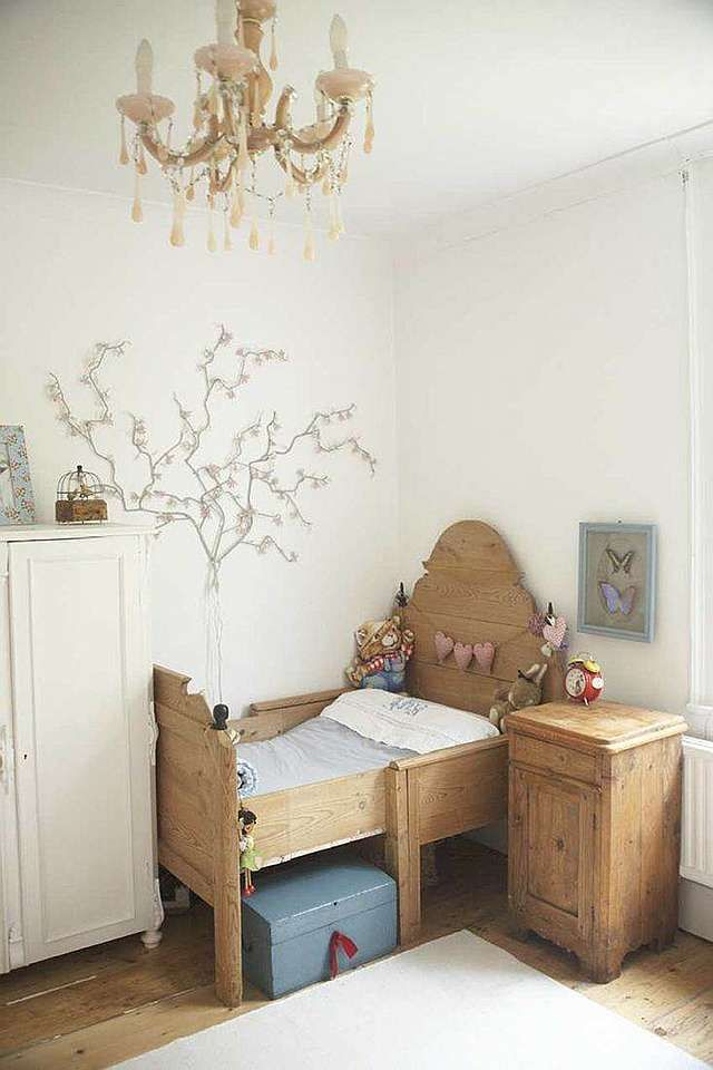 The beauty of wood. #kidsdecor