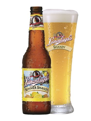 Grab a cold one. Leinenkugel's Summer Shandy tastes like lemonade-flavored beer. Meaning, it's delicious.