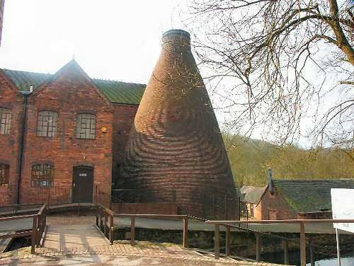 Coalport China Museum, Ironbridge - Shropshire, opposite the YHA Coalport, great place to stay.
