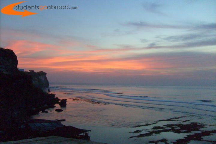 #Sunset in #Bali